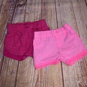 Other - Summer shorts bundle toddler size 2